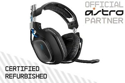 ASTRO A50 Wireless Headset. Black. PS4 / PS3 / PC. Certified Refurbished