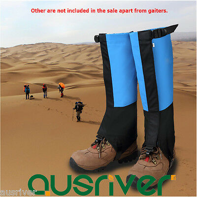Waterproof Adult Kids Legging Gaiters Protective Covers Hiking Climbing Desert