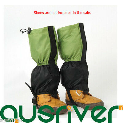 New Kids Children Legging Gaiters Protective Cover Fleece Hiking Climbing Winter