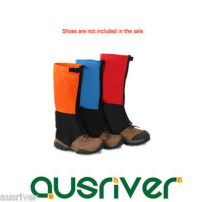 Durable Waterproof Legging Gaiters Protective Leg Cover Hiking Mountain Trekking