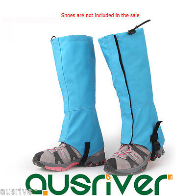 New Kids Adults Waterproof Legging Gaiters Protective Leg Cover Hiking Climbing