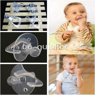 New Baby Infants Silicone Nipple Soother Pacifier Orthodontic Dummy Teether B