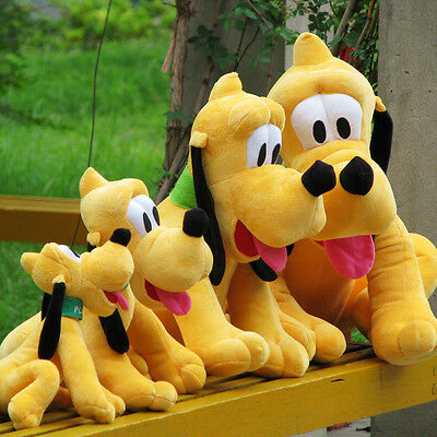 28cm Disney Pluto Plush Stuffed Animal Dog Baby Toys Soft Dolls Hound Cute 1pcs