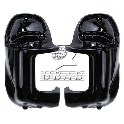 Lower Vented Leg Fairings Glove Box For Harley Road Electra Street Glide Touring