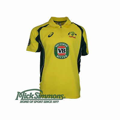 NEW Cricket Australia 2016 Men's ODI Shirt by Asics
