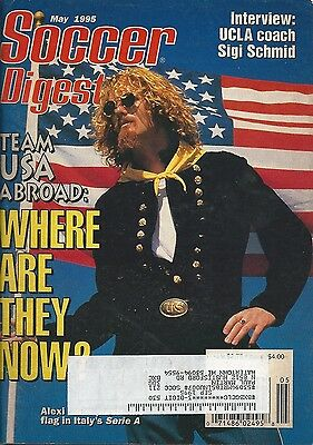 Soccer Digest May 1995 - Alexi Lalas - USMNT