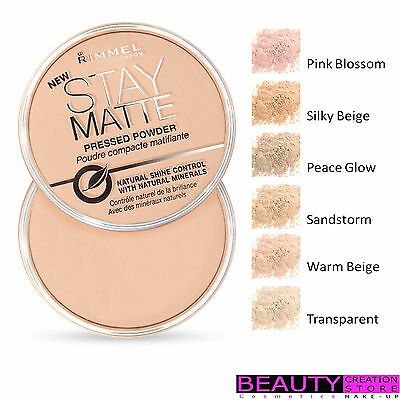 RIMMEL Stay Matte Pressed Powder Long Lasting 14 g CHOOSE SHADE RM018