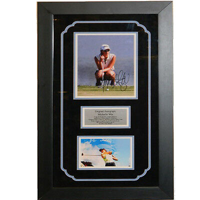 Michelle Wie Autographed 8x10 Framed