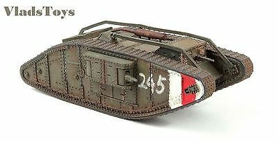 "Wings of the Great War 1:72 Mark IV ""Female"" Tank British Army #245 WW10201"
