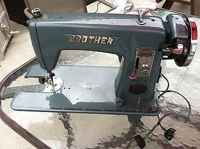 antique brothers syncro-matic precision sewing machine