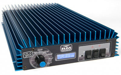 LINEAR AMPLIFIER - RM HLA 305 PROFESSIONAL HF (1.8-30MHz) - WITH LCD