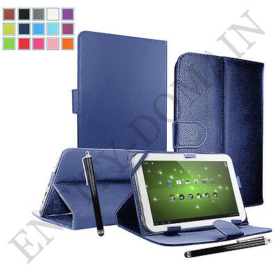 "Smart Universal Leather Stand Case Cover 9.7"" - 10.1"" Inch Tab Android Tablet PC"
