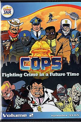 COPS.: The Animated Series,Vol. 2  (DVD, 2011 3-Disc Set) NEW  Episode 33-65