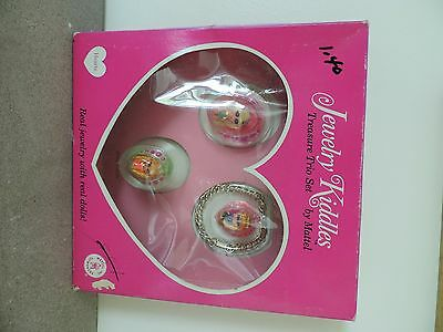 1967 Liddle Kiddles Jewelry Kiddles Treasure Trio Mint in Box Very Hard to Find!