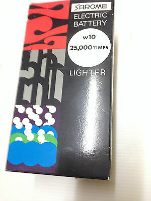 Sarome Electric Battery Table Lighter Stainless Steel Kim Cigarettes New