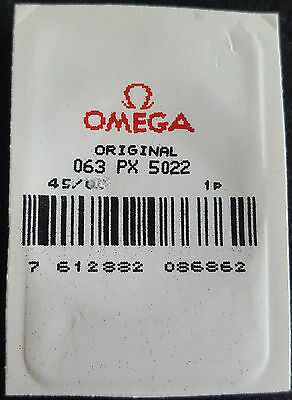 Omega Plexiglass Crystal PX5022 (with Yellow Colour Tension Ring)