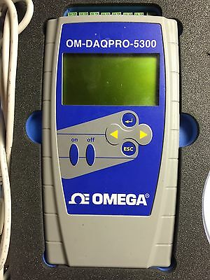Omega/Fourtec DaqPro 8 Channel Handheld Portable Data Logger, Temp, Volt or Amp