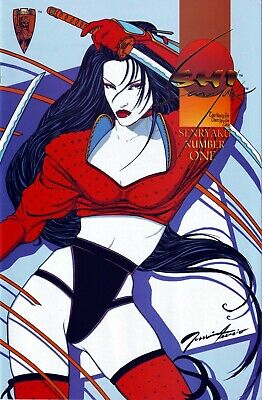 Shi Senryaku #1 ~ Crusade bad girl comic (FN)