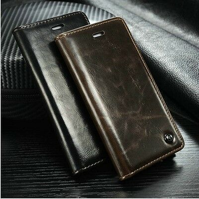 Luxury Flip Case Card Hold Cover Leather Wallet For Apple iPhone 5 6 6S Plus