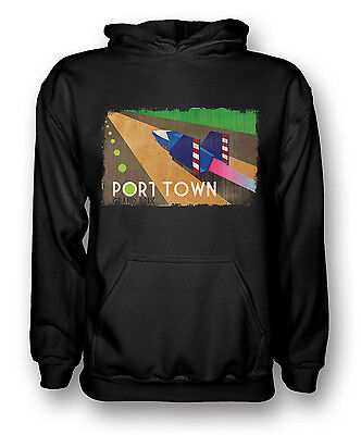 F Zero Port Town - Grand Prix - Gamer  - Mens Hoodie