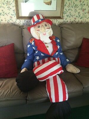 Uncle Sam Porch Sitter Or Porch Greeter