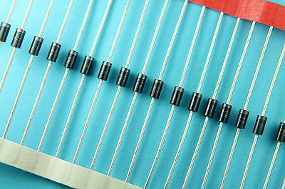 100pcs 1N5819 VISHAY 1 Amp 40 Volt 1A 40V Schottky Barrier Rectifier Diode DO-41