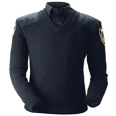 New Blauer Navy 210 Commando Sweater Men's Woman's Police Security All Sizes