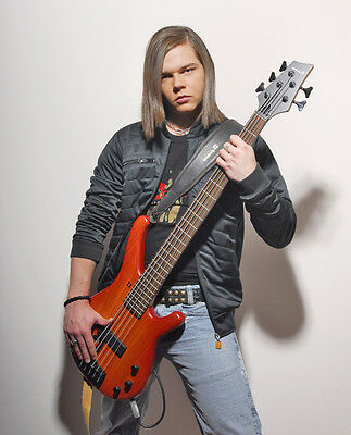 Georg Listing UNSIGNED photo - E1670 - Bassist with Tokio Hotel