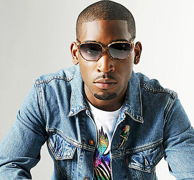 Tinie Tempah UNSIGNED photo - E1702 - English rapper, singer and songwriter