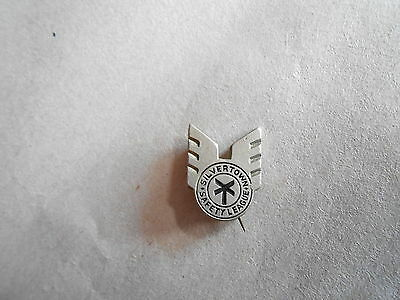 Vintage BF Goodrich Tires Silvertown Safety League Advertising Pinback Lapel Pin