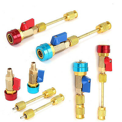 Air Conditioning R134A Car Valve Core Quick Remover High Low Installer Tool