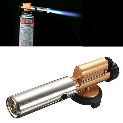 New Flame Lighter Jet Torch Butane Gas Blow Burner Welding Solder BBQ Camping