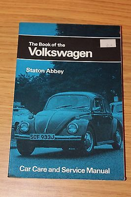 The Book Of The Volkswagen by Staton Abbey 1971 Edition Beetle Karmann Ghia Tran