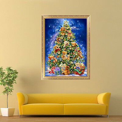 Christmas Tree 5D Diamond Painting DIY Embroidery Cross Stitch Home Decor Craft