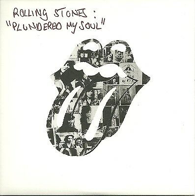 """Rolling Stones - Plundered my Soul (2010)  UK 7"""""""
