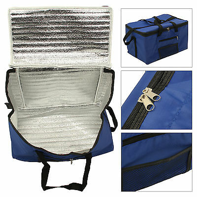 26L Large Collapsible Cool Bag Picnic Camping Hamper Ice Can Drink Food Cooler