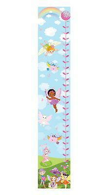Magic Garden Fairies Fairy Girls Bedroom Nursery Canvas Height Chart Hc006