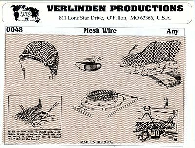 Verlinden Productions 1:35 1:48 Mesh Wire Diorama Accessory #0048