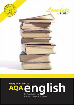 Achieving A in GCSE AQA English (Specification A): GCSE AQA English Excellence G