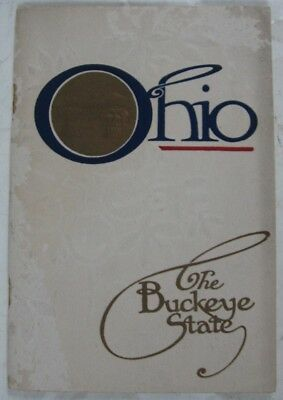 Antique 1915 Panama-Pacific Expo Commission of Ohio The Buckeye State