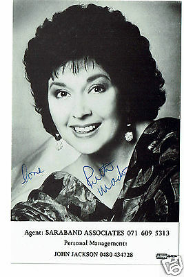 Ruth Madoc Actress Hand signed Publicity Photograph  6 x 4