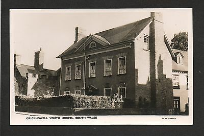 Crickhowell Youth Hostel - real photographic postcard