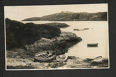 Amlwch - Lynas Point - real photographic postcard