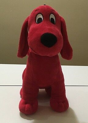 Clifford the Big Red Dog Stuffed Animal Toy Kohls Cares Plush 2011