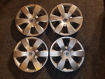 """Set Of 4 Brand New 2007 2008 2009 2010 2011 Camry 16"""" Hubcaps Wheel Covers 61137"""