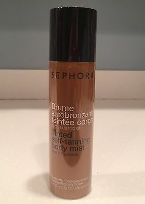 Sephora Tinted Self-Tanning Body Mist. Full Size 5 Oz New & Sealed!