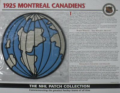 1925 Montreal Canadiens Willabee & Ward Official Nhl Hockey Patch
