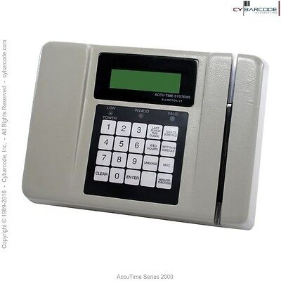 AccuTime Series 2000 Time & Data Collection Terminal