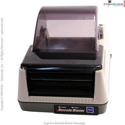 Cognitive Barcode Blaster Advantage Direct Thermal Printer - New (old stock)