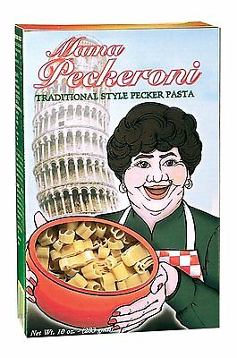 Mama Peckeroni - Traditional Style Pecker Novelty Pasta - Bachelorette Pipedream